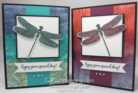 Inside The Lines Dragonflies - two cool