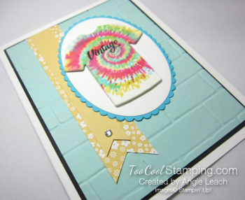 Tie-Dyed Custom Tee Card - vintage 3