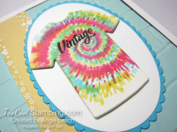 Tie-Dyed Custom Tee Card - vintage 2