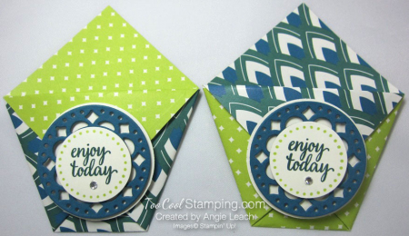 Eastern palace treat pouch - lime pacific tranquil