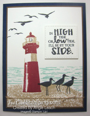 High Tide By Your Side - navy