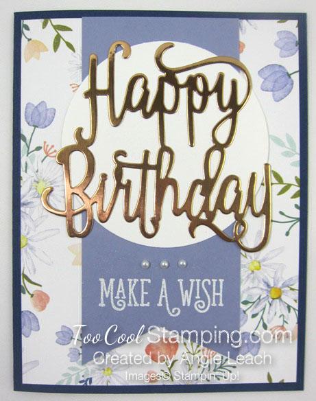 Happy birthday make a wish 2 - wisteria