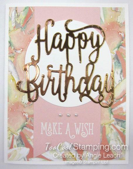 Happy birthday make a wish - powder 1