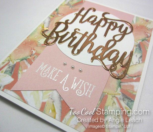 Happy birthday make a wish - powder 4