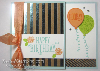 Happy birthday gorgeous gc holder - sky