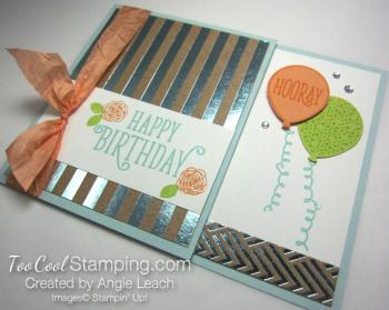 Happy birthday gorgeous gc holder - sky 2