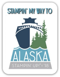 Stampin way to Alaska