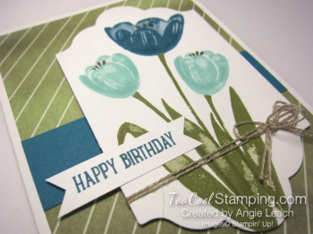 Tranquil Tulips Trio - Olive 3
