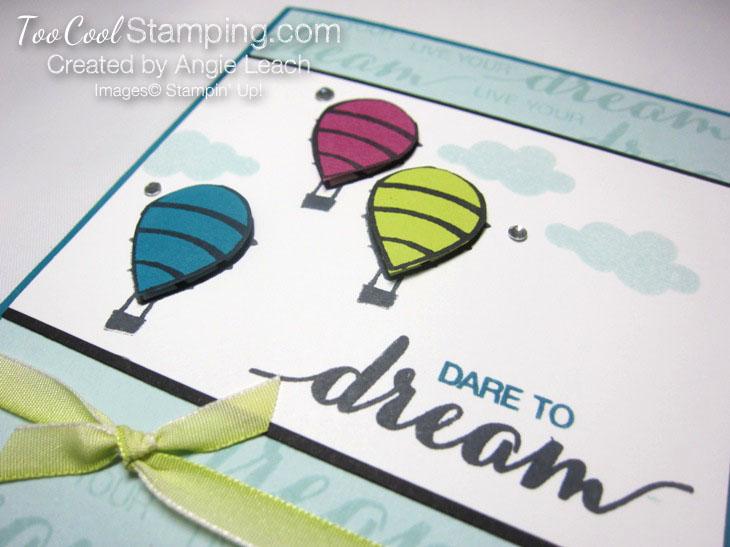 Dare To Dream Balloon trio - dream 2