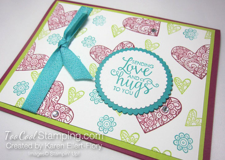Karen ribbon of courage hearts 2