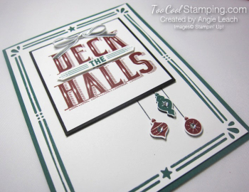 Deck The Halls Ornaments Trio - tranquil tide 4