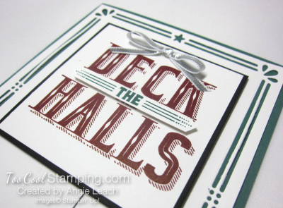 Deck The Halls Ornaments Trio - tranquil tide 3