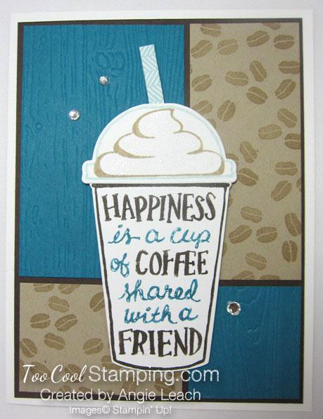 Coffee Cafe 4 Block Mocha - indigo