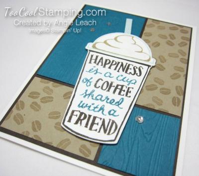 Coffee Cafe 4 Block Mocha - indigo 2