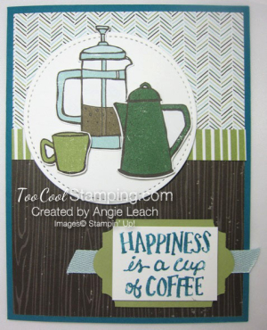 Coffee Cafe coffee pots - indigo