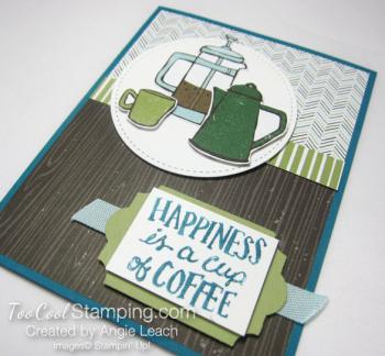 Coffee Cafe coffee pots - indigo 2