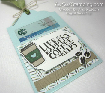 Coffee Cafe Life Happens Gift Card Holders - sky 2