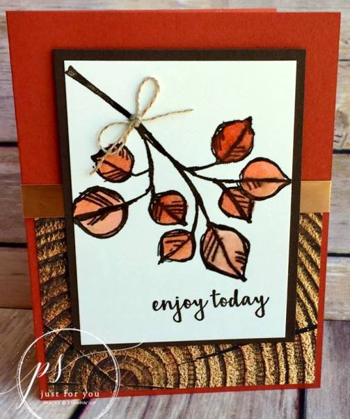 Masculine wood leaves - candy rattray