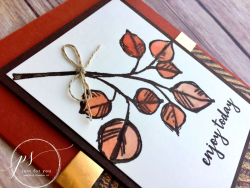 Masculine wood leaves - candy rattray 2