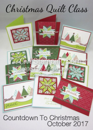 Christmas Quilt Cards - banner