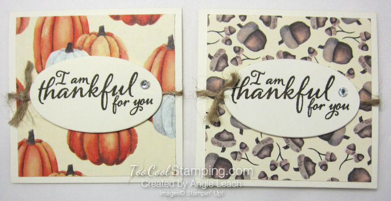 Pizza boxes - painted autumn box cards 2