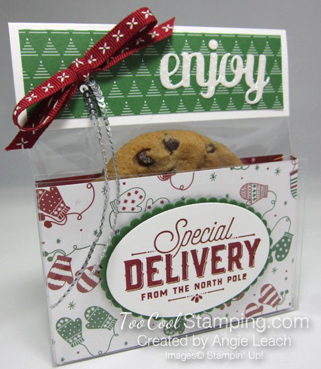 Be Merry Acetate Treat Boxes green