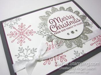 Snowflake sentiments falling snowflakes - sugarplum 2