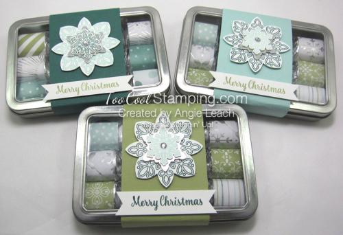2017 Nugget Tins Snowflakes - trio