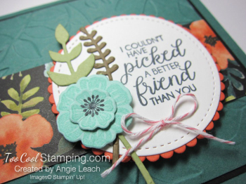 Whole Lot of Lovely Leaves Bouquet - tranquil tide 3