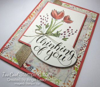 Count My Blessings with Blends - coral 2