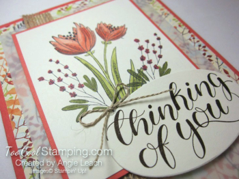 Count My Blessings with Blends - coral 3
