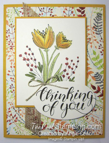 Count My Blessings with Blends - daffodil