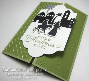 Night In Bethlehem gate fold - olive 2