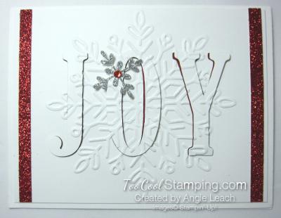 Winter wonder eclipse cards - joy
