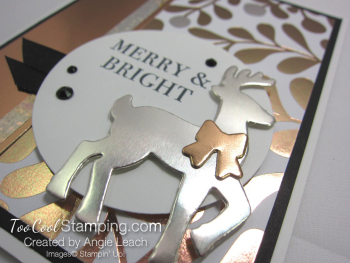 All year year mixed metal reindeer - copper 3