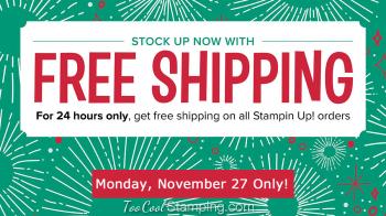 Free shipping november 27 2017 3
