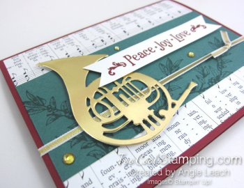 Musical season french horn - tranquil gold 3