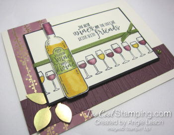 Wine & friends cards - with friends 2