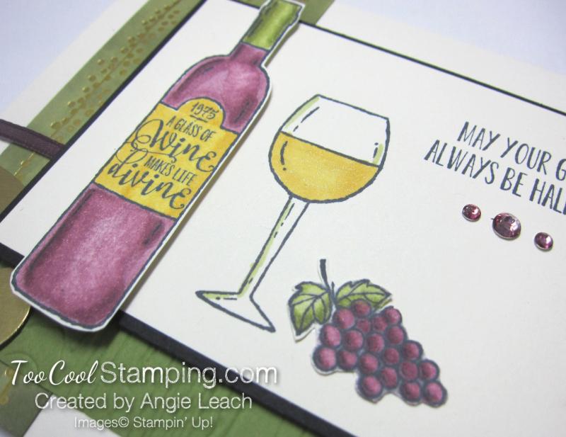 Wine & friends cards - half full 2