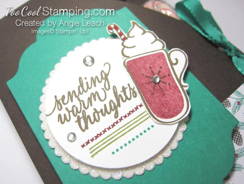 Hot cocoa pouches - emerald mat & cherry mug 2