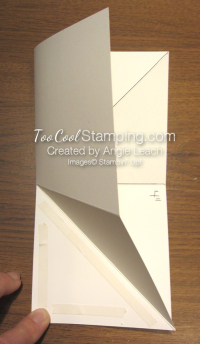 Special Delivery Corner Pop-Up Card - base 2