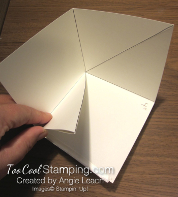 Special Delivery Corner Pop-Up Card - base 3