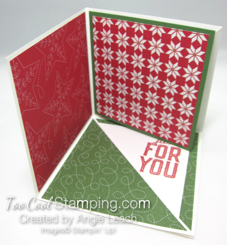 Special Delivery Corner Pop-Up Card - red 3