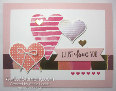 Heart happiness floating hearts - powder pink
