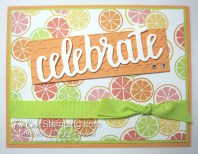 Tutti frutti celebrate you - citrus