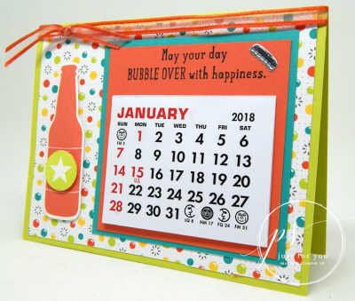 Bubble over calendar - kelly acheson