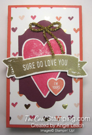 Sure do love you box - hearts 1