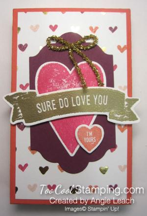 Sure do love you box - hearts 1