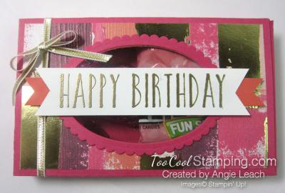 Lots to love birthday window box - razzle