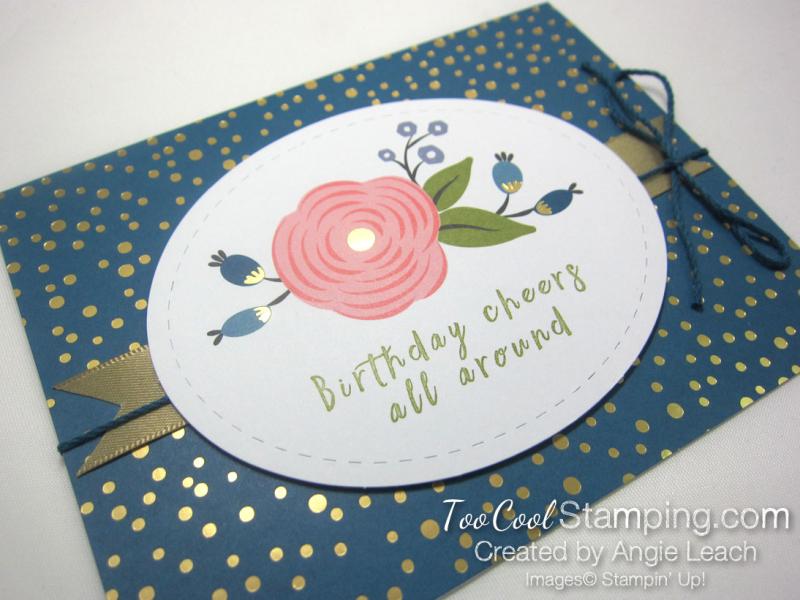 Perennial birthday kit - denim blooms 2
